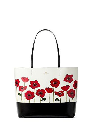 Kate Spade Women's Ooh La La Poppy Little Len Leather TOTE Handbag