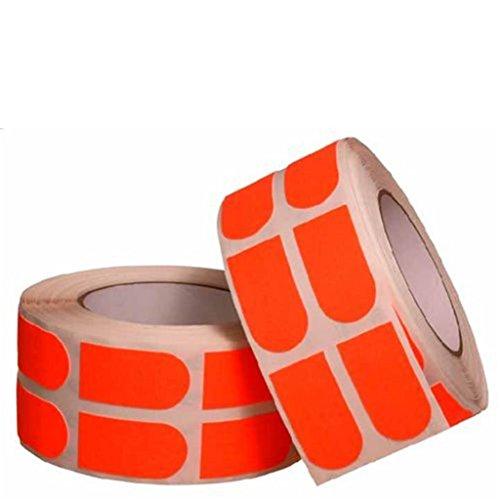 Turbo Grips Strip Tape 500 Piece Neon Orange- 3/4 Inch by Turbo Bowling Grips