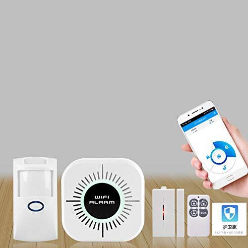 Ocamo - Sistema de Alarma inalámbrico Wi-Fi Inteligente de Seguridad para casa u Oficina