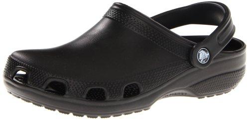 crocs Unisex 10003 Relief Clog,Black,Women's 21 M US/Men's 19 M US