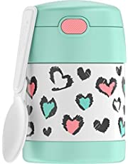 THERMOS FUNTAINER 10 Ounce Stainless Steel Kids Food Jar, Pastels