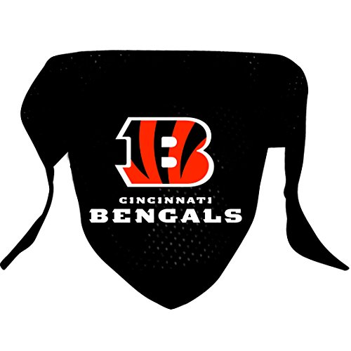 Hunter MFG Cincinnati Bengals Mesh Dog Bandana, Small
