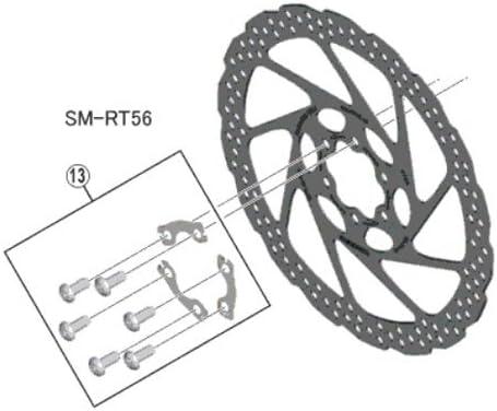 Shimano 9801 - Piezas de Repuesto para Bicicleta Unisex (8KT ...