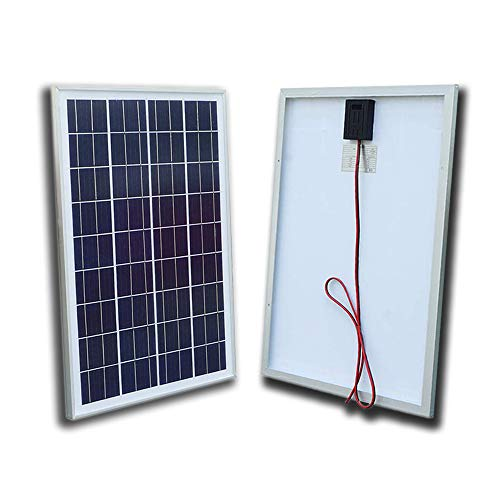 - ECO-WORTHY 12V Volt Solar Panel 25W Watt Module Off Grid Charging RV Boat