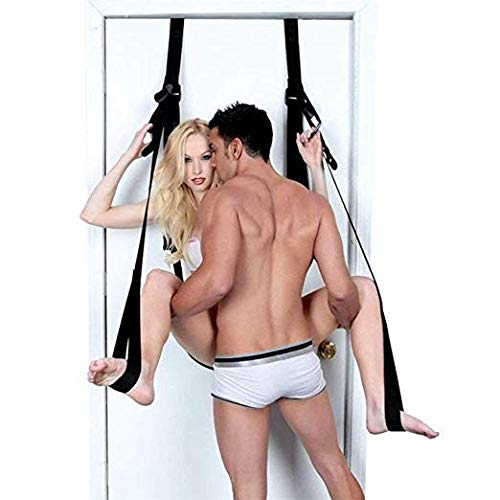 My Secret Life Šêx Hanging on Door Swing Set Kit - Deluxe Fantasy Adult Door Swing Swivel Swing with a Comfortable Seat for Couples whyszygd by Whyszygd