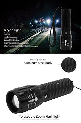 2000 Lumens Q5 Bicycle Light LED Bike Front Waterproof Lamp+ Holder - 8