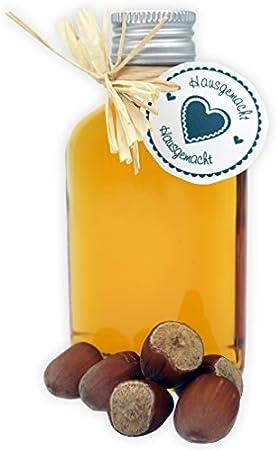 8 botellas de cristal 100 ml con tapa a rosca + 2 mini embudo/10 cl botellas vacías de vidrio para llenar/tapón de sample botellas para los aceites, whisky, whisky, Ron etc.