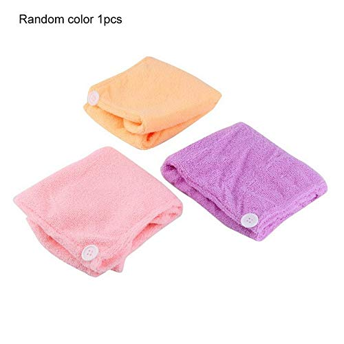 ningbao651 Microfibre After Shower Hair Drying Wrap Towel Quick Dry Hair Hat cap Turban
