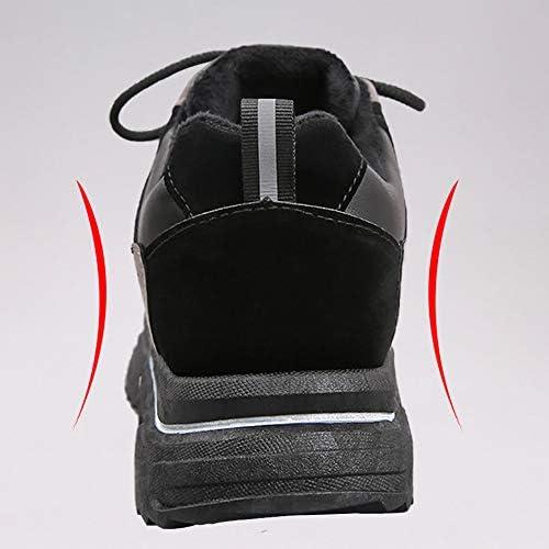 スニーカー メンズ 裹起毛 ランニング スノー ウォーキング シューズ 厚底