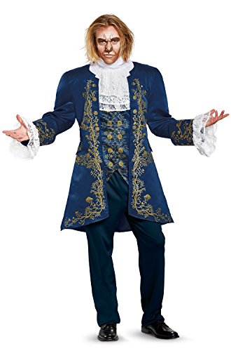 Disguise Men's Plus Size Beast Prestige Adult Costume,