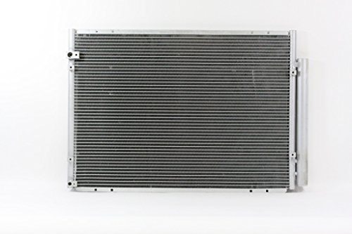 A-C Condenser - Pacific Best Inc For/Fit 3500 06-07 Toyota Highlander Hybrid 06-08 Lexus RX 400H w/Receiver & (Pacific Hybrid)