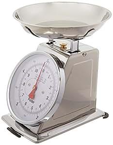 Polder 11-Pound Stainless-Steel Kitchen Scale