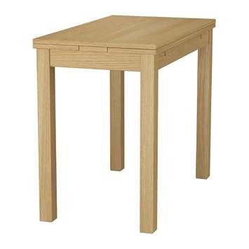 Klapptisch Küche Ikea.Ikea Bjursta Klapptisch Ausziehbaren Tisch Eiche Furnier