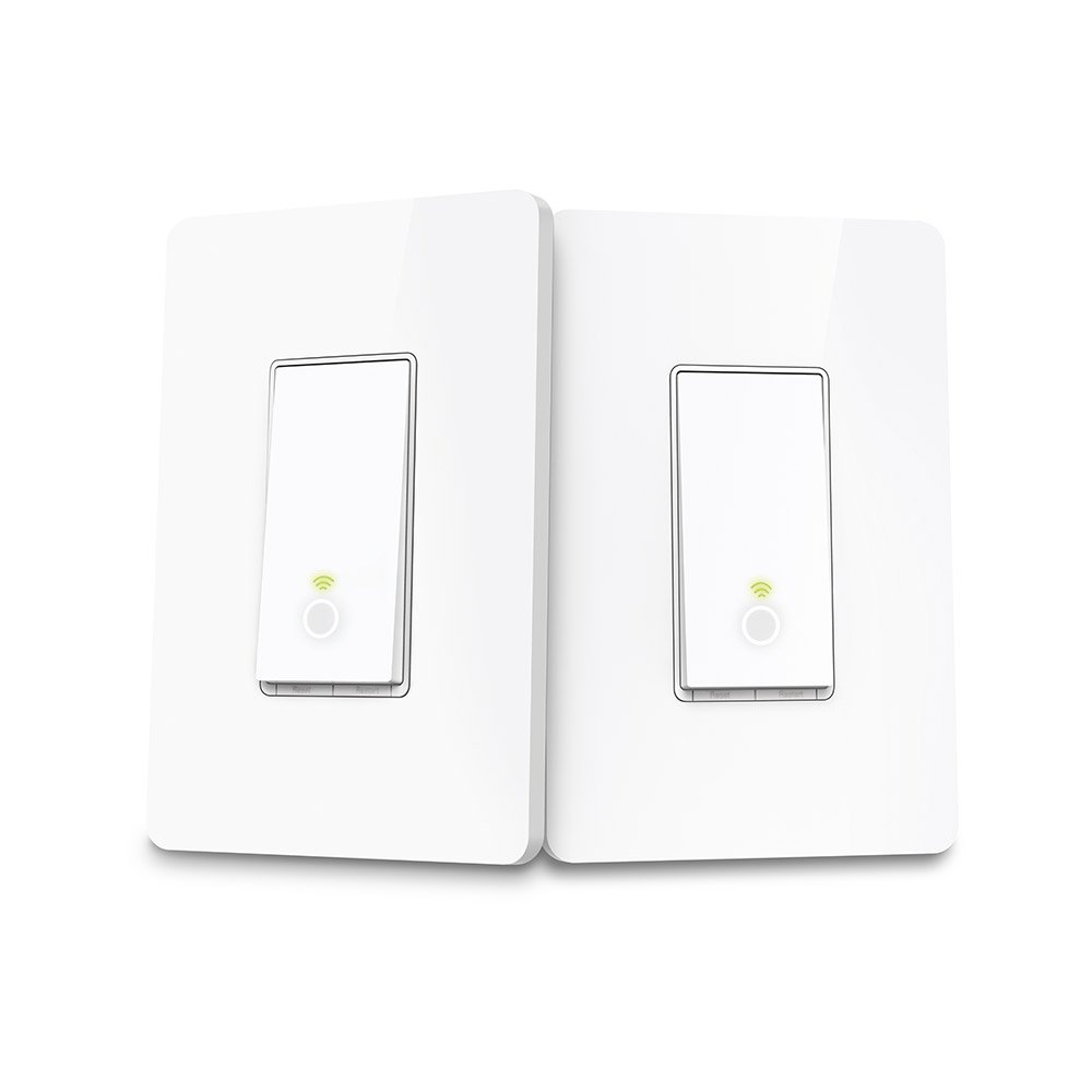 Kasa Smart Wi Fi Light Switch 3 Way Kit By Tp Link Control Two Lighting Circuit Wiring Diagram Further Multiple From Anywhere Easy In Wall Installation Only No Hub Required