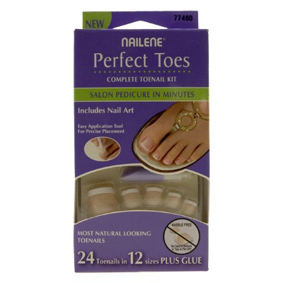 Perfecto Dedos De Nailene Postizas Uñas de los Pies - 77460-2