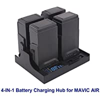 Battery Charger Hub 4in1 Parallel Charging Board Drone Battery Manager for DJI MAVIC AIR