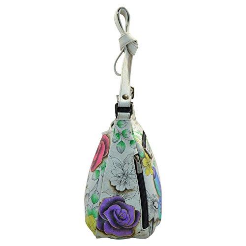 ANUSCHKA, Borsa a tracolla donna multicolore Floral Paradise 13 pollici