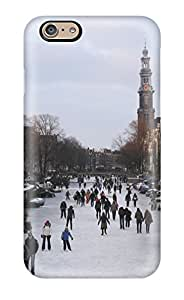 New Tpu Hard Case Premium Iphone 6 Skin Case Cover(amsterdam City )