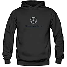 TIANRUN Women's Mercedes-Benz Automobile Manufacturer Logo Hoodie Size XL ColorName