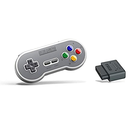 8Bitdo SN30 Retro Set (SF Edition) - Super NES