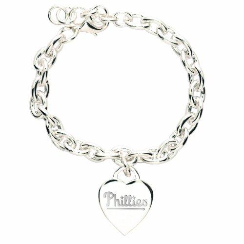 Baseball Charm Philadelphia Phillies (MLB Philadelphia Phillies Heart-Charm Bracelet)