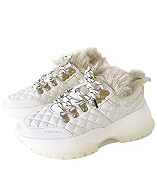 Uterque Women White quilted trainers 5083/051/001