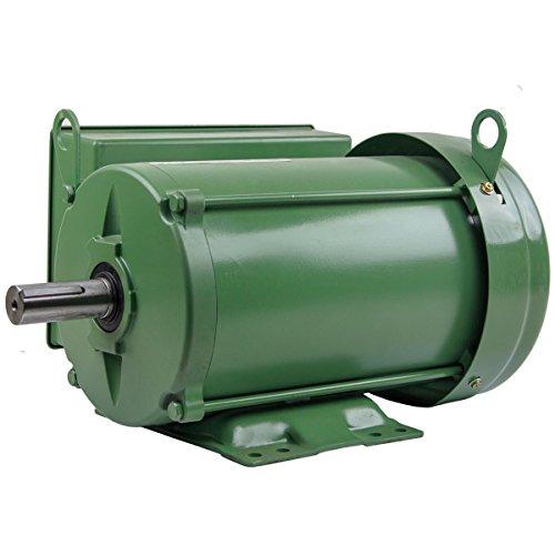 (5 HP Farm Duty Single Phase Electric Motor 1800 RPM 184T Frame TEFC 208/230 Volt)