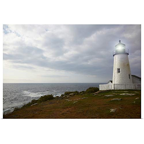 GREATBIGCANVAS Poster Print Entitled Pemaquid Point Lighthouse by 18
