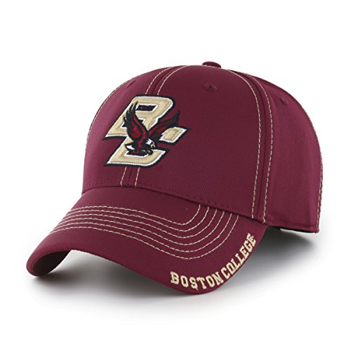 NCAA Boston College Eagles Adult Start Line Ots Center Stretch Fit Hat, Large/X-Large, Cardinal