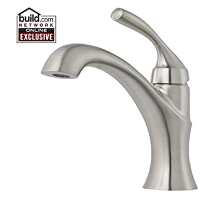 Pfister GT42-TR0 Iyla Single Hole Bathroom Faucet with Metal Pop-Up Assembly,