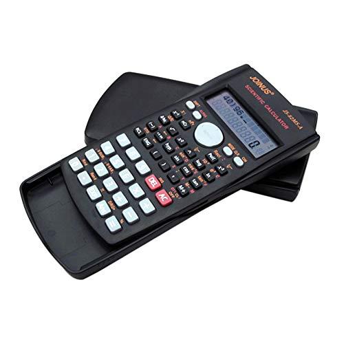 Nero Multifunzionale Scientific 2 Display LCD Calcolatrice Calcolatrice funzionale portatile 240 funzioni