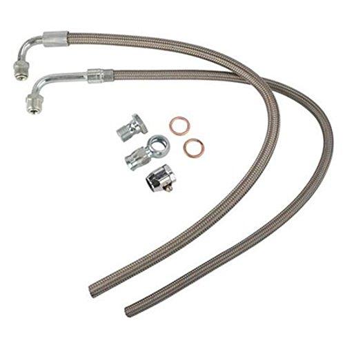 power steering pump hose adapter - 9