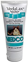 VedaLax Hairball Treatment Tuna -3 oz (85 g) tube by Vedalax