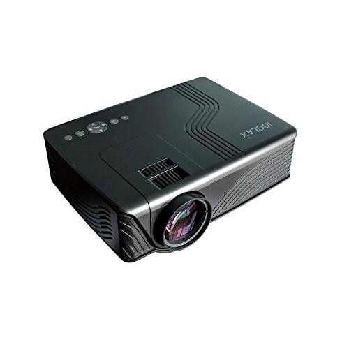 Proyector, iDGLAX iDG-787B LCD LED Video Multimedia Mini Proyector Portátil para Home Cinema Theater Movie Game TV DVD...