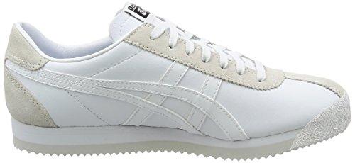 Tiger Corsair White Unisex Elfenbein White Erwachsene Gymnastikschuhe Asics qRFgc