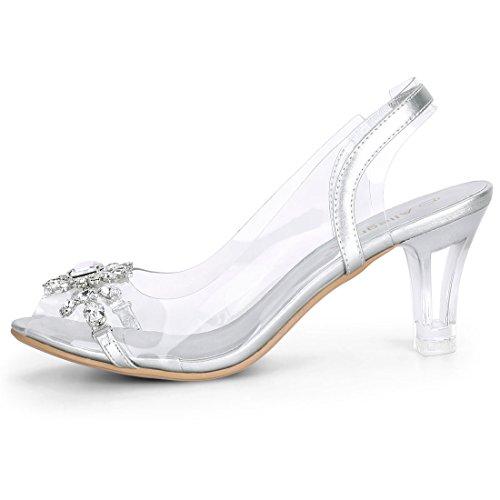 Femme Bride K G18050300ux0009 Arriere Allegra Silver Yq0w0P