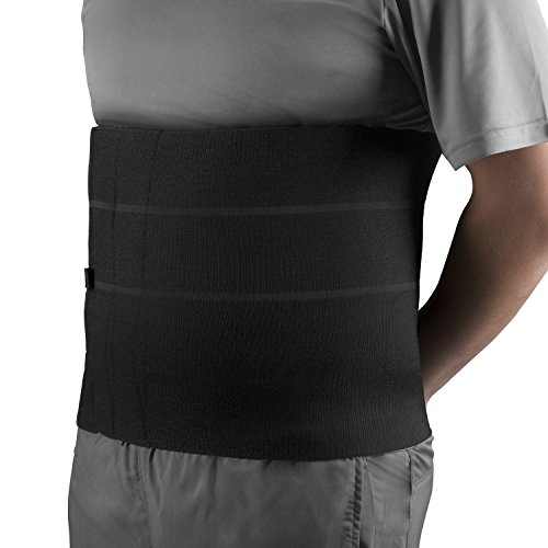 OTC Four-Panel Body Heavy Duty Select Series Abdominal Binder, Black, ()