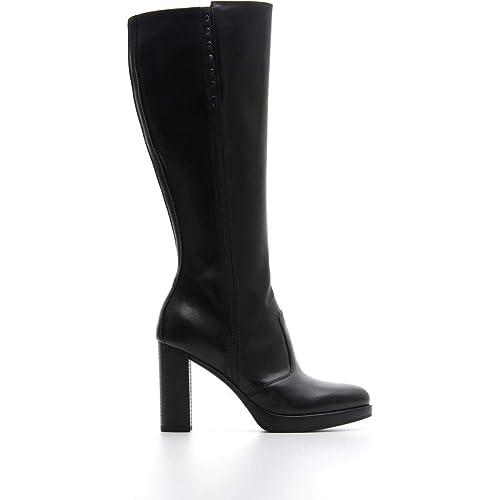 scarpe casual belle scarpe lotta Nero Giardini Donna Stivale A807000D Nero o Cuoio Scarpe in Pelle ...