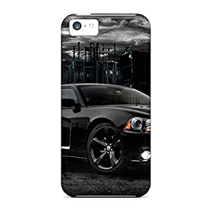 iphone 5c dirt-proof mobile phone back case High Grade Appearance 2012 dodge charger blacktop