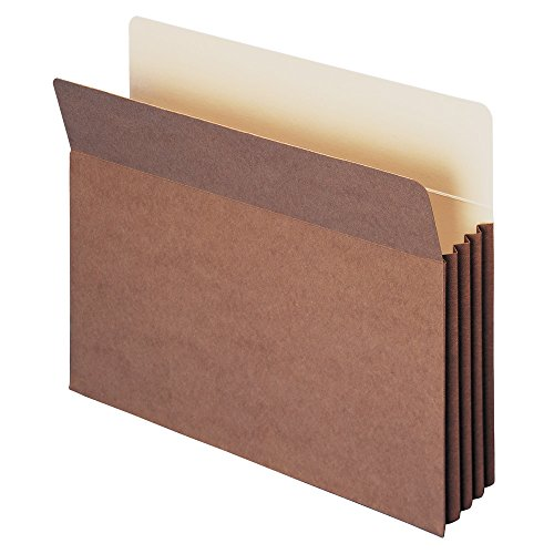 Smead TUFF File Pocket, Straight-Cut Tab, 3-1/2