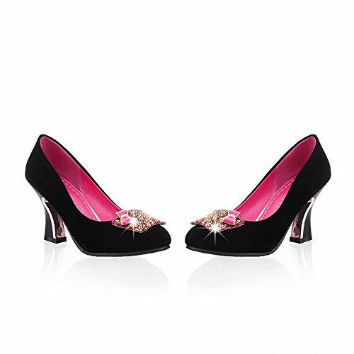 Red Rose Elegante Con Archi Strass Donna Shoes Tacco Sexy Alto Carol Court 5wqv0P5