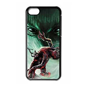 Carnage iPhone 5c Cell Phone Case Black yyfabb-171970