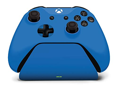 Controller Gear Xbox Pro Charging Stand Photon Blue. for Xbox Elite, Xbox One and Xbox One S Controller. Exact Color Match. Officially Licensed and Designed for Xbox - Xbox One (Renewed)