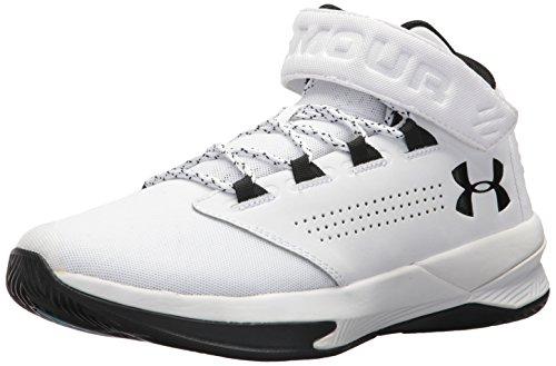 Under Armour Men's Get B Zee Basketball Shoe, 100/White, 10.5