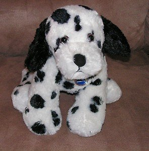 (2008 Nintendo Nintendogs Plush Interactive Electronic Battery Operated Dalmation Dog-nintendog Dalmation Retriever Pup-soft Plush Pup Stands Apprx 10