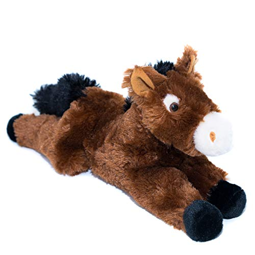 "14"" Horse Stuffed Animal – Ultra Soft Stuffed Horse Designed With Superior Softness – Perfect Size Horse Plush – Easy To Carry & Snuggle – Realistic Cute Horse Toy – Bring A New Horse Home To Ages 3+"