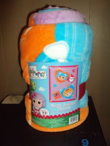 Lalaloopsy Micro Raschel PLUSH Throw 50x60 Super Soft!