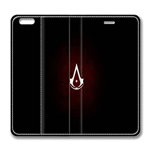 Creative Assassins Creed 2 Logo Smart Cover Case for iphone 6 plus 5.5inch