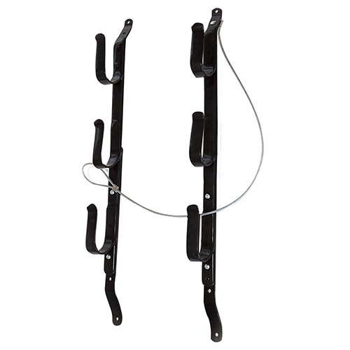 Allen Locking Gun Rack For Trucks, 3 gun -