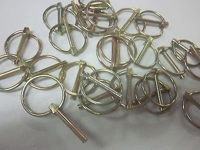 50 Goliath Industrial 3/16'' Lynch Pin 3 Point 3PT Hitch Clips Tractor LP316